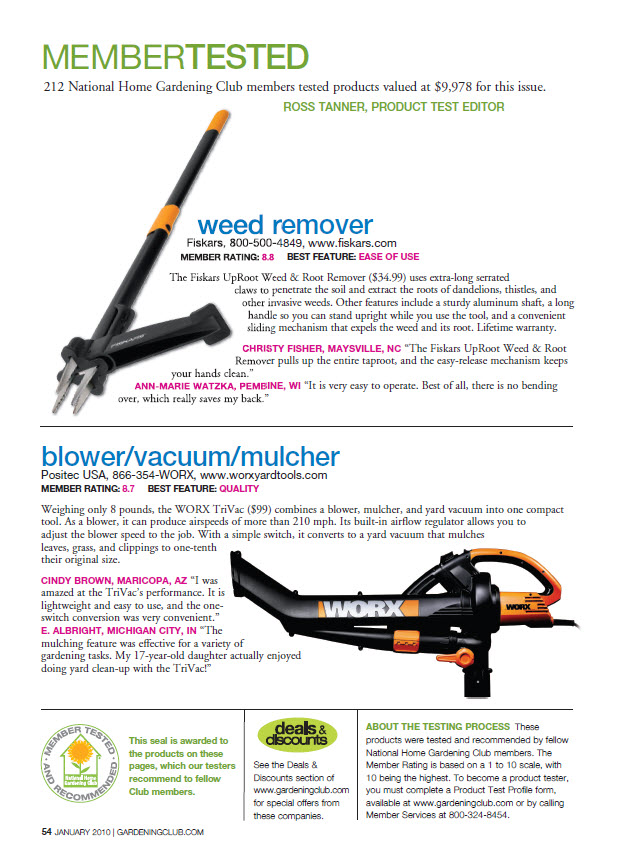 Gardening How-to - Weeder